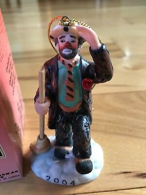 Ornament - Emmet Kelly Circus Collection - Looking For Santa - 2004