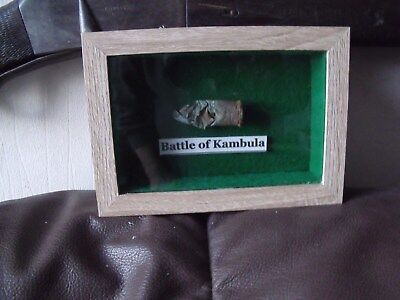 ANGLO-ZULU WAR RELICS FROM THE BATTLE OF KAMBULA 29th MARCH 1879