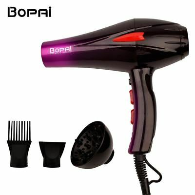 Professional Salon 4000W Super Power Hair Dryer Fast Styling Blow Dryer Hot Cold