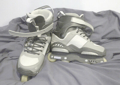 Downtown Rollerblade TRS - Grey and Black, Men's UK Size 8