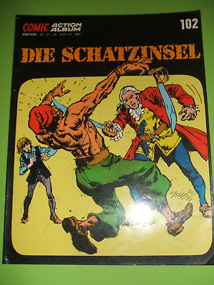 Action Comic Album 102, Die Schatzinsel