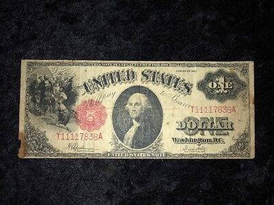 1917 $1 Large Size Currency LEGAL TENDER