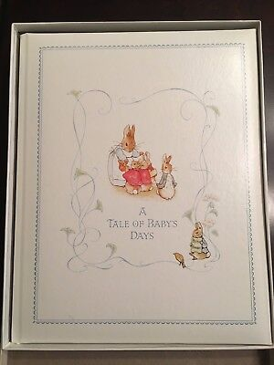 Beatrix Potter Tale of Baby Days CR Gibson Baby Album 1979 NEW in Box Hardcover