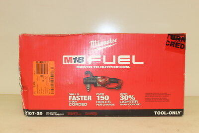 Milwaukee M18 FUEL 18-Volt Hole Hawg 1/2 in. Right Angle Drill 2707-20