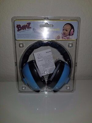 Baby Banz Infant Hearing Protection Earmuff - 3+ months - Blue