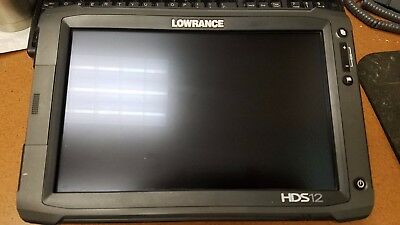 LOWRANCE HDS 12 GEN 2 TOUCH w/ Structure Scan with down imaging and side imaging