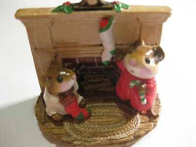 Wee Forest Folk Christmas - M-092: Christmas Morning RARE