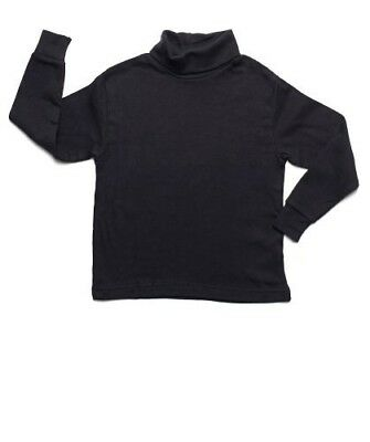 Leveret Big Girls Solid Turtleneck 100% Cotton (7-14 Years) Variety of Colors