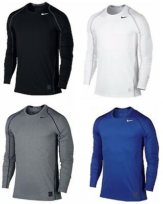 Nike Men's Pro Cool Dri-FIT Fitted Long Sleeve Training Shirt - NWT