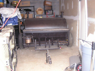 Pull Behind Propane/Wood BBQ Smoker/Grill Trailer