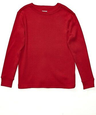 Leveret Long Sleeve Solid T-Shirt 100% Cotton (Size 2-14 Years) Variety of...