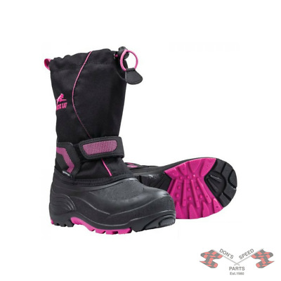 5262-540 Arctic Cat Child's & Youth Snowmobile Boots - Pink-Youth 5