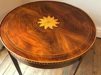 Antique Georgian Mahogany Circular Table -