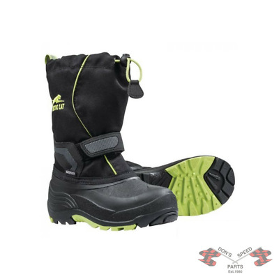 5262-52* Arctic Cat Child's & Youth Snowmobile Boots - Lime-Youth