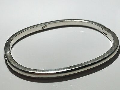 Very Heavy Solid Silver Bangle Stunning Not Scrap Lot 720