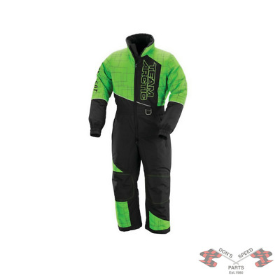 5260-393 Arctic Cat Youth Team Arctic One-Piece Suit - Lime
