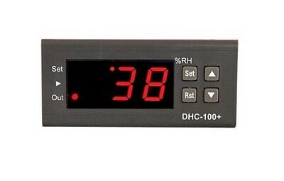 DHC-100 + Humidity controller / hygrostat with 2m sensor