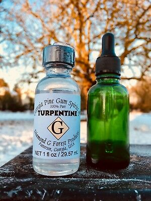 100% Pure Gum Spirits of Turpentine (Organic) by Diamond G Forest