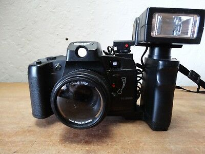 Vintage Canon 35mm Film Camera TC-5000 w/Self Timer & Flash!!...See Pictures
