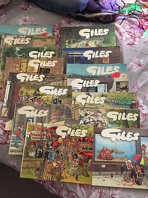 Giles Cartoon Books (heavy item will arrange courier if requested)