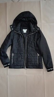 giubbotto CHRISTIAN DIOR, tg S (black quilted slim  fit jacket )