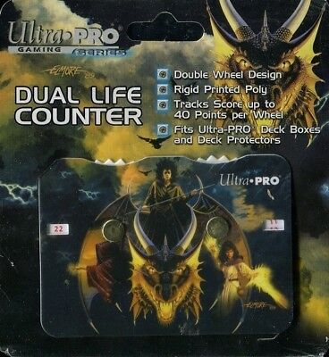 "Dual Life Counter ""Elmore Gold Dragon"" NEU"