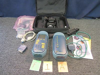 Wavetek Cable Tester Lt 8100A 100 Mhz Cat5 Antenna/rf Fiber Military Wire Used