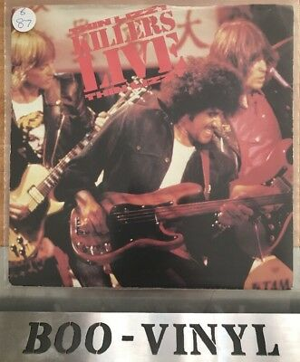 "THIN LIZZY PHIL LYNOTT 3 TRACK 7"" SINGLE P/S * THIN LIZZY KILLERS LIVE * Ex"