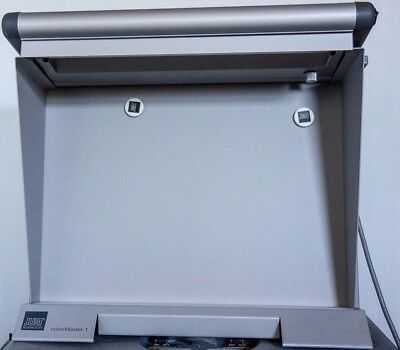 "Just Normlicht Color Master Viewing Station 1 DI (19 x 13.5"" ) with Sidewalls"