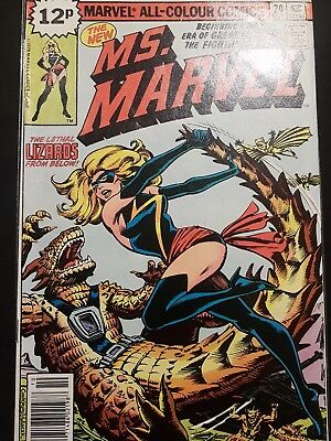 Ms Marvel #20 (first black costume)