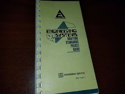 Allis Chalmers Engineering Systems Drafting Standards Pocket Guide Es-109-1