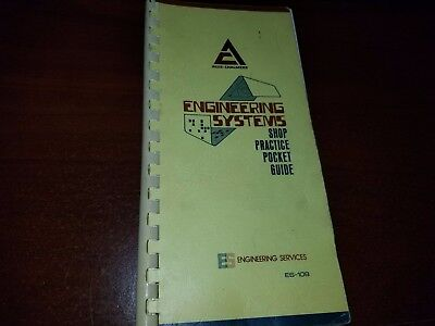 Allis Chalmers Engineering Systems Shop Practice Pocket Guide Es-108