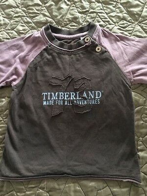 Baby Boys Timberland Top, Age 12 Months