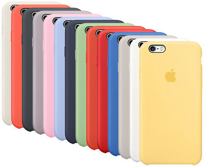 OEM Original Apple Silicone Case For Apple iPhone 6, iPhone 6s All Colors