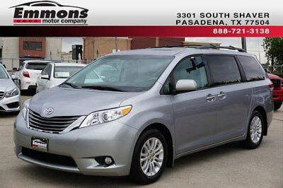 2012 Toyota Sienna XLE Mini Passenger Van 4-Door 2012 Toyota Sienna XLE WITH LEATHER AND WITH RARE MOBILITY ACCESS PACKAGE