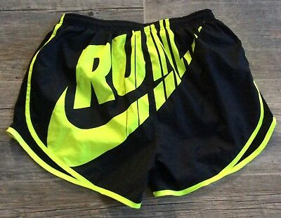 WOMEN'S NIKE TEMPO TRACK DRI-FIT RUNNING SHORTS Black Size Medium