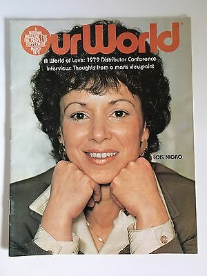 "Vintage Tupperware 1979 ""Our World"" Magazine Catalog Book"