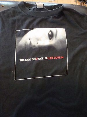 Vintage Goo Goo Dolls 2006 Let Love In Concert T-Shirt, Size Small, Nice Shape!