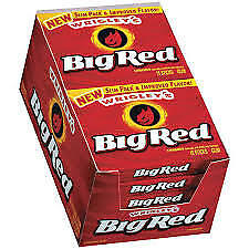 BIG RED Cinnamon Flavoured Chewing Gum