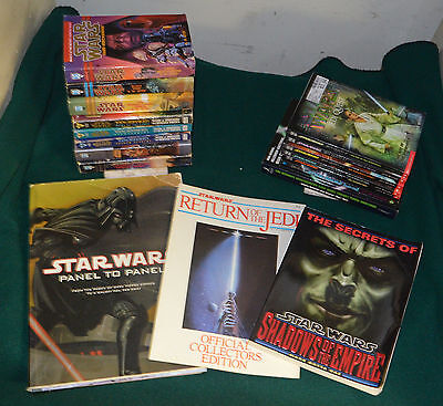 Lot of 18 - Various Star Wars Books - Jedi Quest, Young Jedi, Bounty Hunter