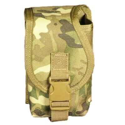 Bulle Multicam Tactical Military Webbing MOLLE Open Top Radio Pouch