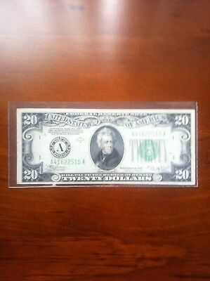 Usa $20 Note Series 1934