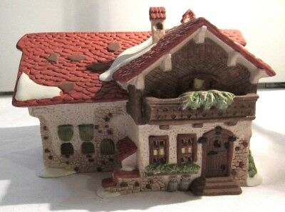 Dept 56  Alpine  Village ~Josef Engel Farmhouse ~  59528