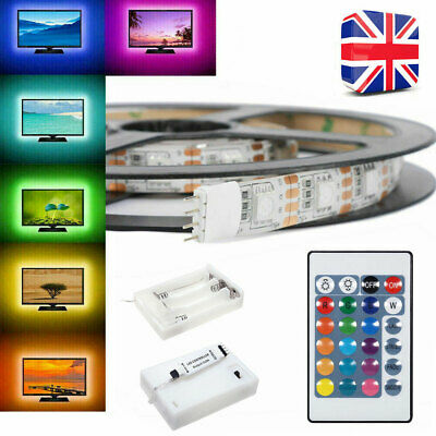 Led strip lights rgb 5v battery box controller battery powered led strip lights rgb 5v battery box controller battery powered multi color 30led aloadofball Choice Image