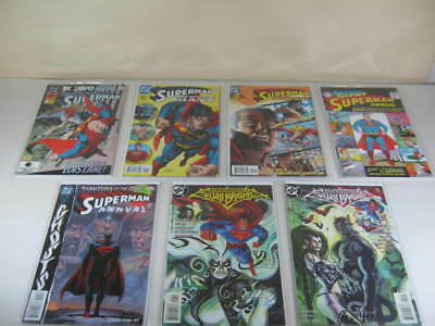Lot of 7 DC Comics Superman [assorted] Annuals, Silver Banshee 1992-1999 (NM-)