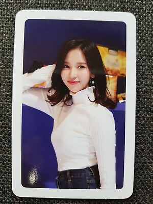 TWICE MINA Official PHOTOCARD #1 MERRY & HAPPY 1st Repackage TWICETAGRAM 미나