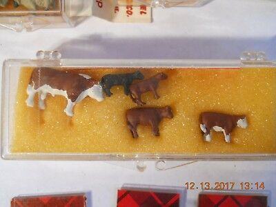 Dyna Models Painted Cattle Details Set **free Shipping