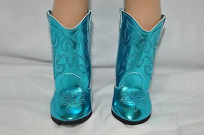 American Girl Doll Our Generation Journey Girl 18 Doll Clothes Blue Cowboy Boots