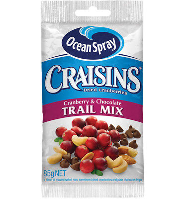 Ocean Spray Craisins Cranberry and Chocolate 85g x 10