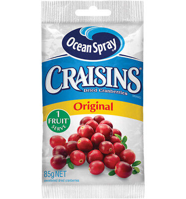Ocean Spray Craisins Original 85g x 10